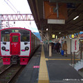 Photos: 八代駅のプラットホーム。
