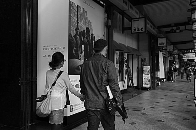 街角のポスター