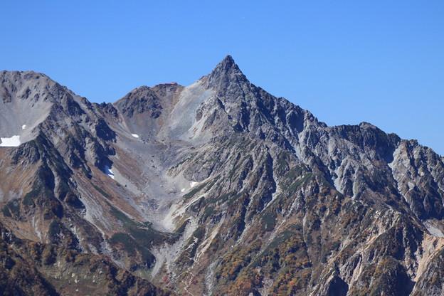 写真: 槍ヶ岳