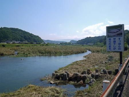 院内町・すっぽんの甲羅干し(1)