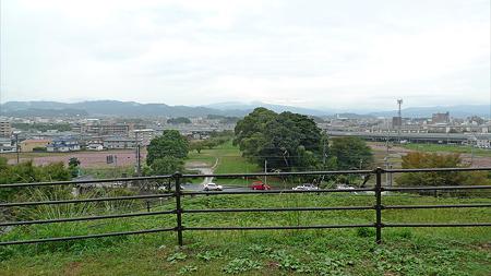水城跡(6)展望台からの眺め