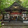 写真: 新屋山神社(富士吉田)