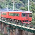 Photos: 橋梁と特急列車