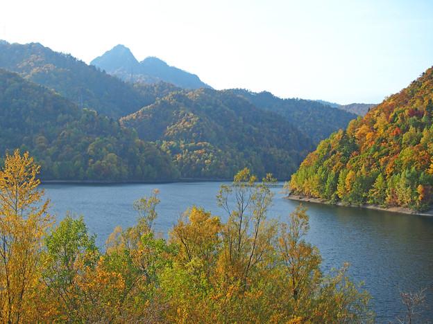 定山渓ダム湖1