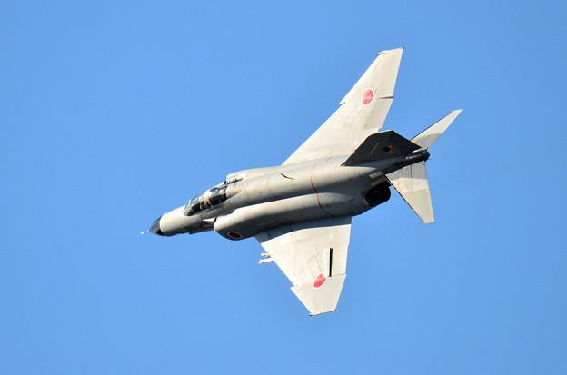 新田原基地 F-4EJ築城基地で機動飛行