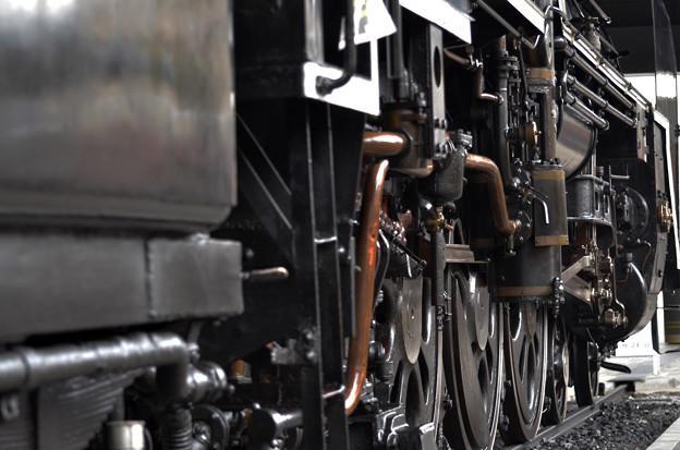 九州鉄道記念館 C59 1号車輪