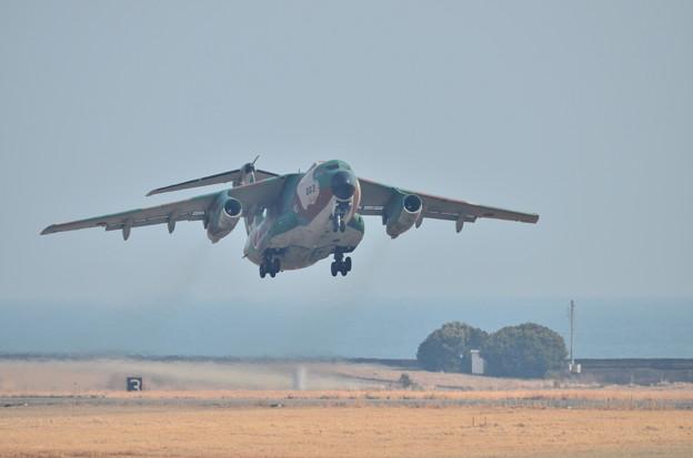 離陸 三保基地のC-1