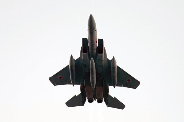 築城基地 F-15上昇中