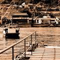 写真: ~其処はいつか来た町・・渡船のある小さな町~(蔵出し)