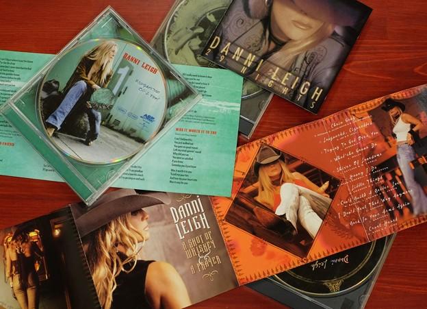 お気に入りの音楽CD、DANNI LEIGH、ダニー・リー、ダン二・リー?、カントリーミュージック