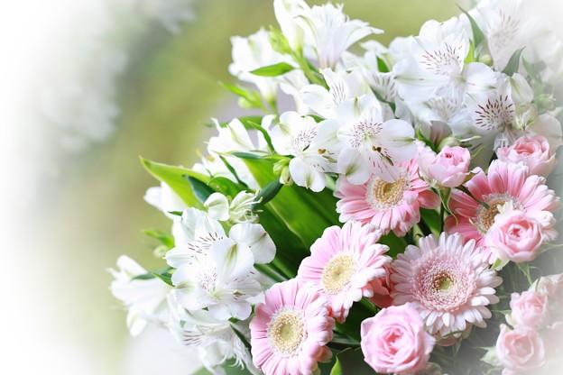 アルストロメリア花束