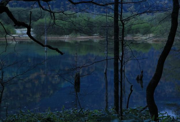 上高地の夕暮れ(1)