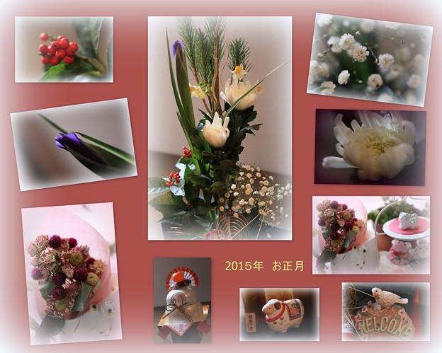 お正月の花?