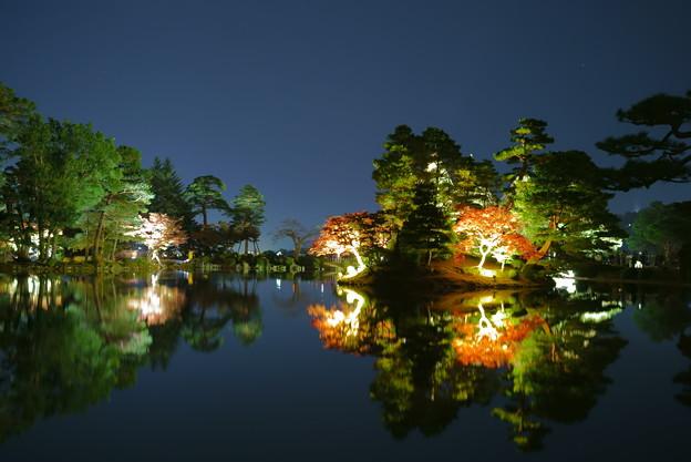 霞ヶ池 紅葉
