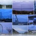 明石海峡大橋と淡路島