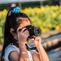 可愛いカメラ女子