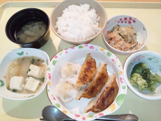 9月19日夕食(点心盛り合わせ) #病院食