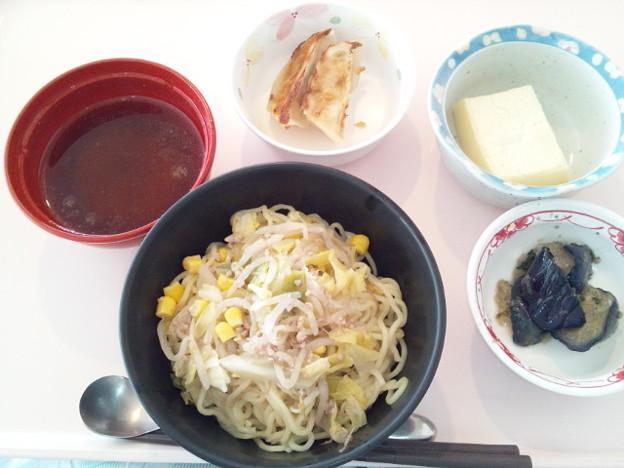 1月23日昼食(味噌ラーメン) #病院食