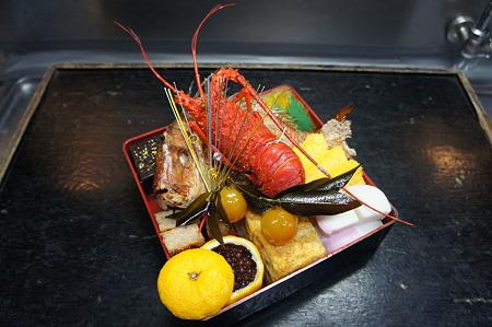 伊勢海老と真鯛の重なり合い