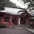 ちょっと神社の様子見てくる(豪雨だから)