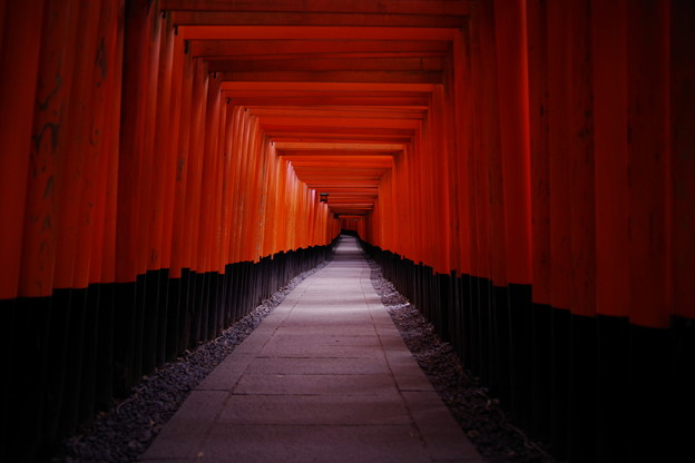 corridor of vermillion