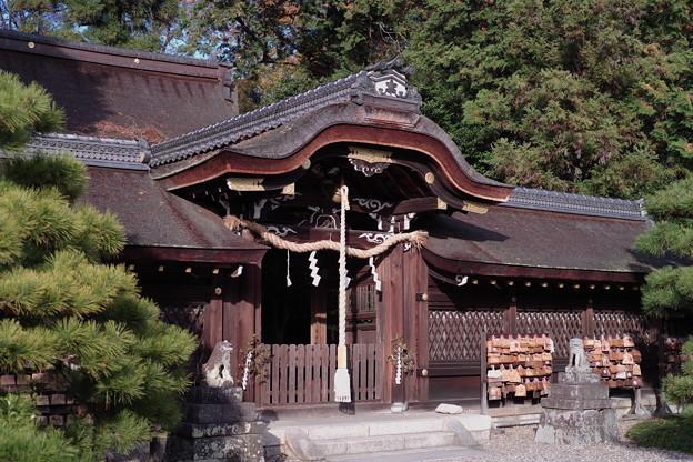 梅宮大社 拝殿