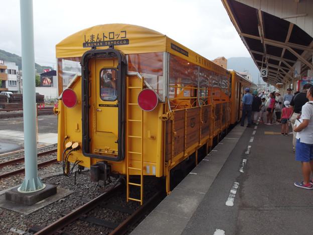 トロッコ列車「しまんと号」