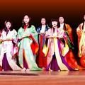 恒例、新年の京都八坂神社京都かるた始め
