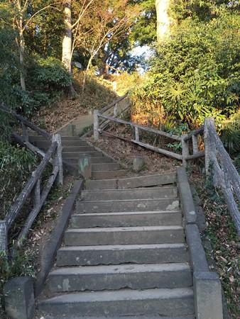 富士見櫓への階段