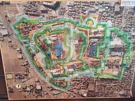 川越城全体図