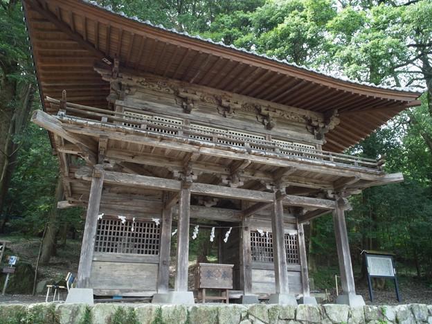 写真: 武田八幡宮02_山門_GXR-0048267