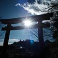 写真: 御嶽神社_04一の鳥居-7062