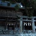 武田八幡宮_山門-7080
