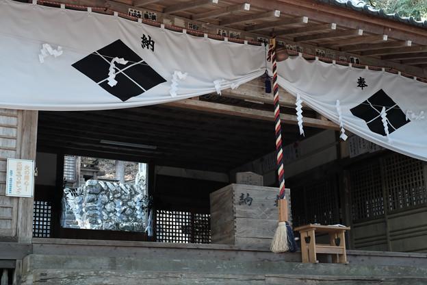 武田八幡宮_拝殿-7078