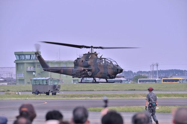木更津へ帰投へ AH-1Sコブラ・・