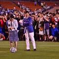 Photos: 番組中継本前の風景 宮崎美子と関根勤・・