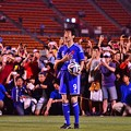 Photos: 番組中継でPKを蹴る前のゴン中山・・