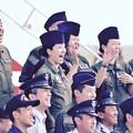 千歳基地航空祭終えて記念撮影。。シグナスの部隊隊員たち。。