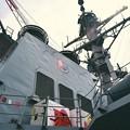 アメリカ海軍ミサイル駆逐艦ベンフォールド 艦橋部分 20170805