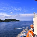 Iめっちゃ暑かった砕氷艦しらせから見る横須賀港 20170805