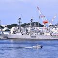 横須賀の見慣れない風景 しらせから米海軍駆逐艦を。。201708005