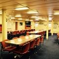 砕氷艦しらせの船内一般公開。。楽しい食堂(^^) 20170805