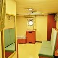 砕氷艦しらせの船内一般公開。。やっぱり広い艦長のお部屋(^^)20170805