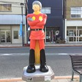 石巻の町には。。漫画ヒーロー サイボーグ004  20170826