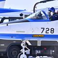 ウォークダウンなしの午前中のブルーインパルスエンジンスタート 20170827