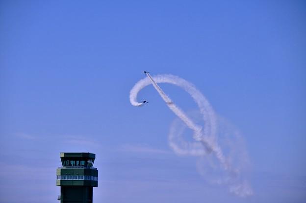 松島基地復興航空祭。。コークスクリュー