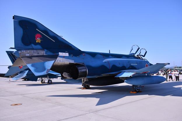 松島基地復興航空祭。。青い空 青い機体百里からRF-4(2)