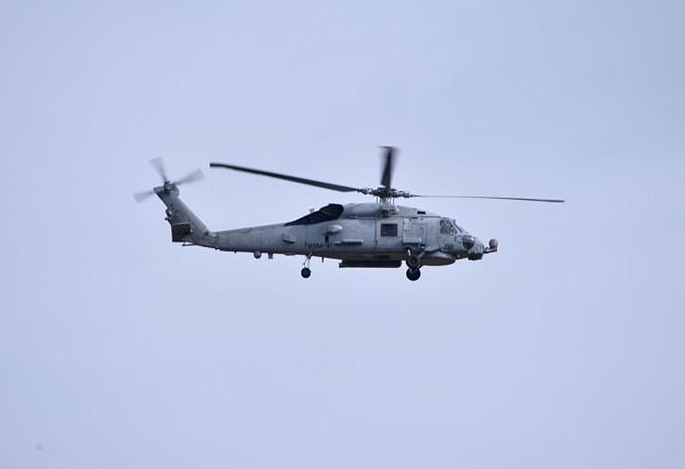 航空祭終えて翌日帰投。。厚木基地へ米海軍MH-60
