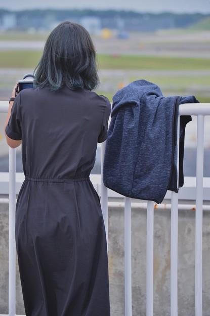 自衛隊ファンの航空女子。。三沢空港