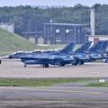 Photos: 三沢基地の風景。。ローカル帰投第3飛行隊F-2 機体チェック